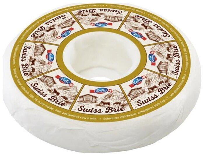 Сыр Emmi мягкий свис бри с белой плесенью 55%