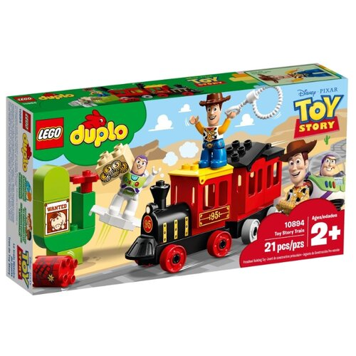 конструктор lego история игрушек 4 весёлый отпуск 10769 Конструктор LEGO DUPLO 10894 Поезд История игрушек