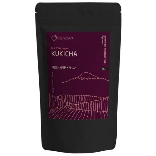 Чай зелёный Organic Art Kukicha, 50 г чай зелёный organic art kokeicha 50 г