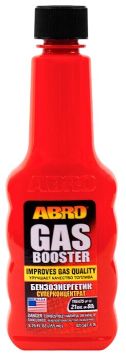 ABRO GT-507-6-R Бензоэнергетик cуперконцентрат (октан-корректор)