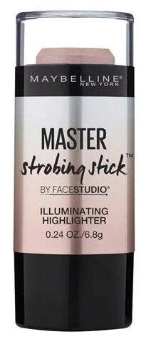Maybelline New York By Face Studio Хайлайтер-стик Master Strobing Stick