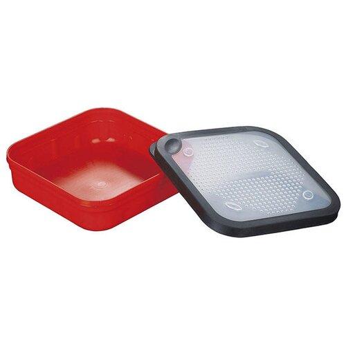 Коробка для приманок для рыбалки MIKADO UAC-G016 16.5х16.5х5 см красный