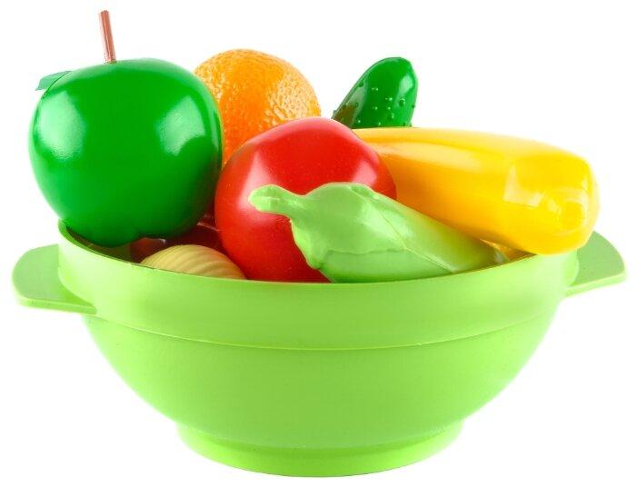 Набор продуктов с посудой Пластмастер Большое ассорти 21017
