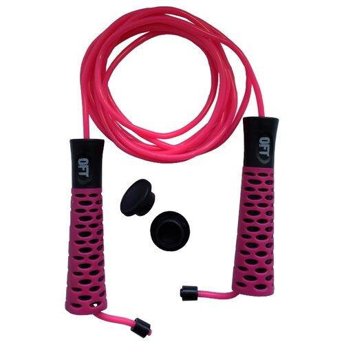 Скакалка Original FitTools FT-JR11 розовый 300 см