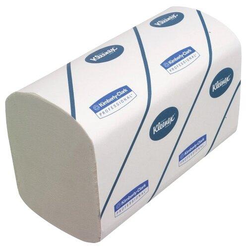 Полотенца бумажные Kleenex Ultra Super Soft 6771 трёхслойные белые в пачках, 30 уп., 96 лист.