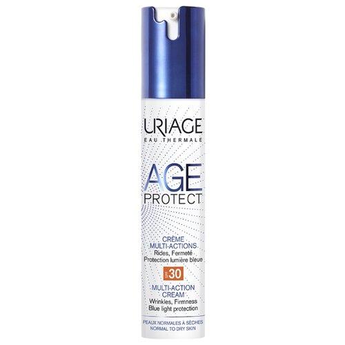 Крем Uriage Age Protect Multi-Action SPF 30 многофункциональный для лица, 40 мл uriage age protect сыворотка интенсивная многофункциональная 30 мл