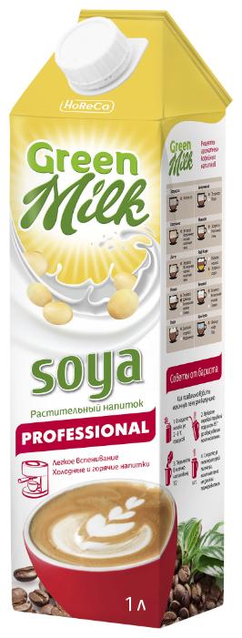 Соевый напиток Green Milk Soya Professional 1%, 1 л
