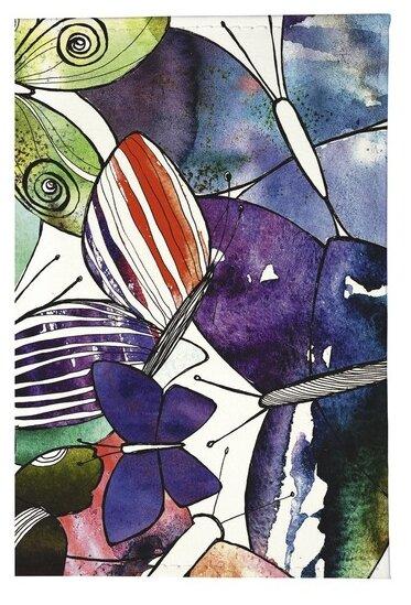 Обложка для паспорта Mitya Veselkov Акварельные бабочки OK213
