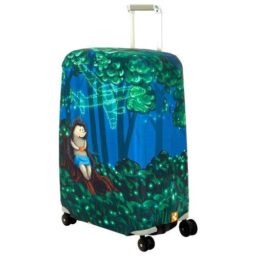 Чехол для чемодана ROUTEMARK Sparky SP240 M/L, зеленый чехол для чемодана routemark inmotion размер m l 65 74 см