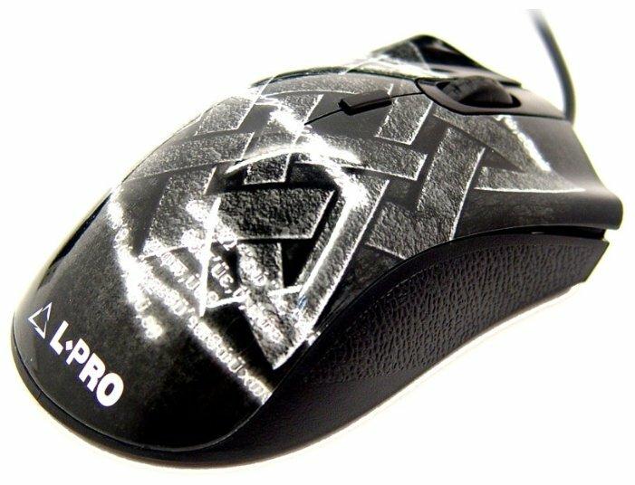 Мышь L-PRO 076/1278 Black USB