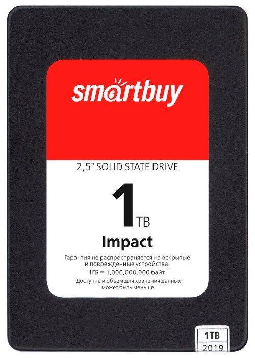 Твердотельный накопитель SmartBuy Impact 1 TB (SBSSD-001TT-PH12-25S3) — купить по выгодной цене на Яндекс.Маркете