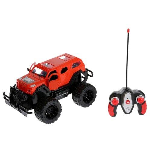 Купить Внедорожник Liang Xing Yuan Toys Off Road (1988Y-B) 40 см красный/черный, Радиоуправляемые игрушки