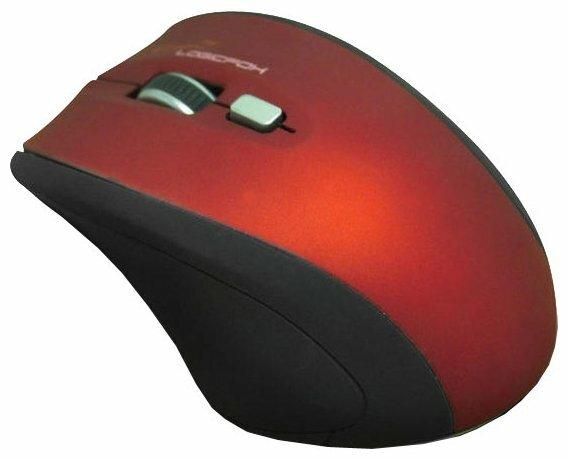 Мышь LOGICFOX LF-MS 041 Black-Red USB