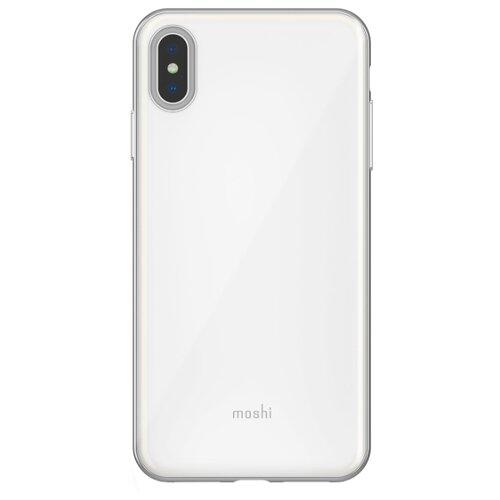 Купить Чехол Moshi iGlaze для Apple iPhone XS Max жемчужно-белый