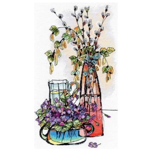 Купить Овен Набор для вышивания Стеклянная фантазия-2 22 х 40 см (996), Наборы для вышивания