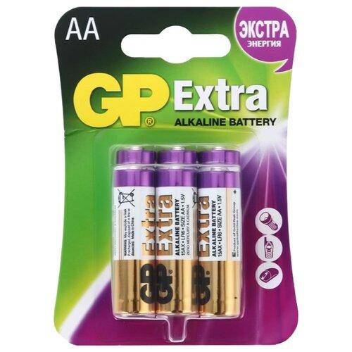 Фото - Батарейка GP Extra Alkaline AA, 6 шт. батарейка rayovac extra za312 6 шт