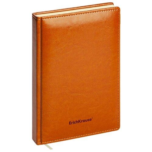 Купить Ежедневник ErichKrause Nebraska недатированный, искусственная кожа, А5, 168 листов, коричневый, Ежедневники, записные книжки
