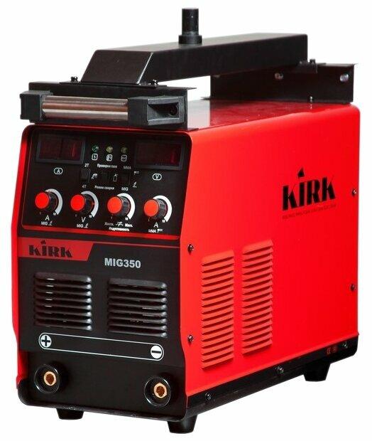 Сварочный аппарат KIRK MIG/MAG 350 IGBT 380V (MIG/MAG, MMA)