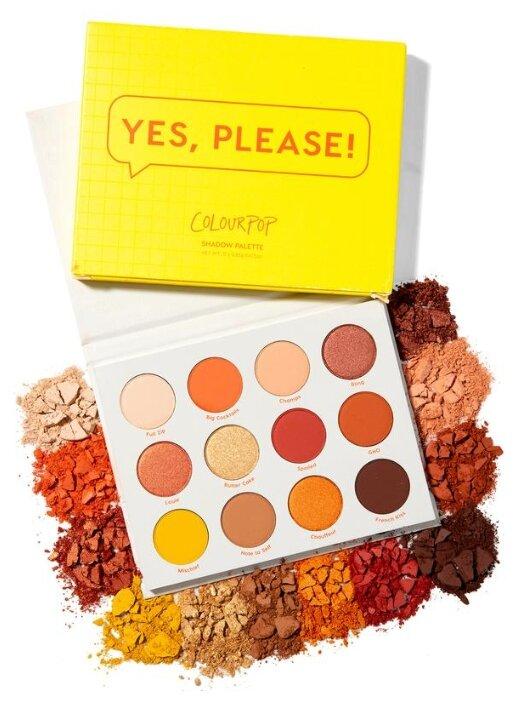 ColourPop Палетка теней Yes, Please! — купить по выгодной цене на Яндекс.Маркете