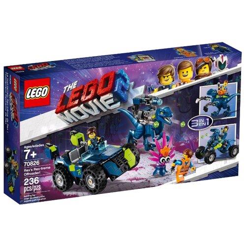 Купить Конструктор LEGO The LEGO Movie 70826 Рэкстремальный внедорожник Рэкса, Конструкторы
