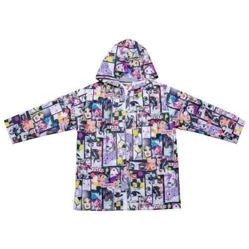 Купить Дождевик КОТОФЕЙ 07851033-40 размер 122-128, белый, Пальто и плащи