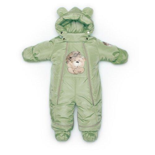 Фото - Комбинезон-трансформер MaLeK BaBy размер 80, Оливковый медведь комбинезон malek baby malek baby