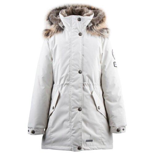 Купить Парка KERRY Estella K19671 размер 152, 101 ваниль, Куртки и пуховики