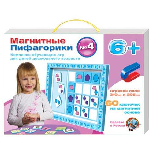 Купить Настольная игра Десятое королевство Магнитные пифагорики №4 6+ 01499, Настольные игры