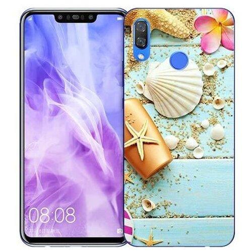 Купить Чехол Gosso 725793 для Huawei Nova 3 пляжный натюрморт