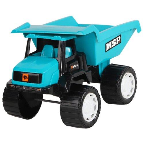 Купить Грузовик Джамбо Тойз JB5300106 36 см голубой, Машинки и техника