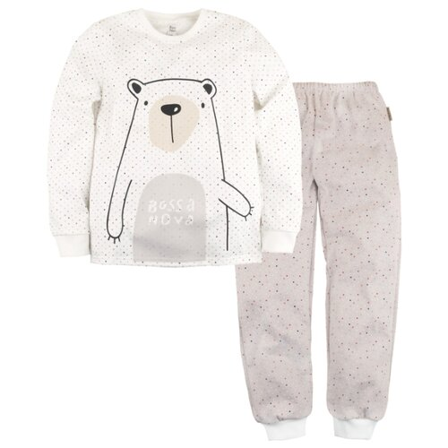 Пижама Bossa Nova размер 34, белый/бежевыйДомашняя одежда<br>