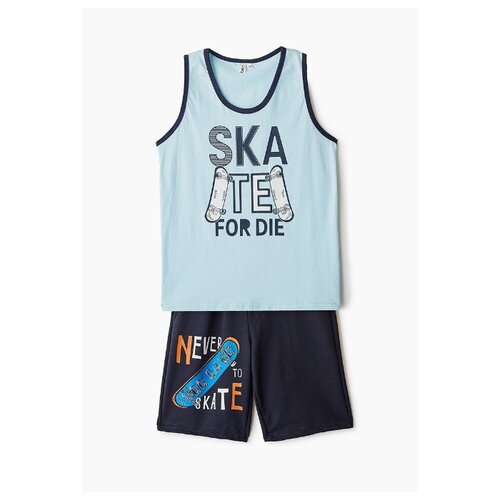 Купить Комплект одежды Elaria размер 134, голубой/синий, Комплекты и форма