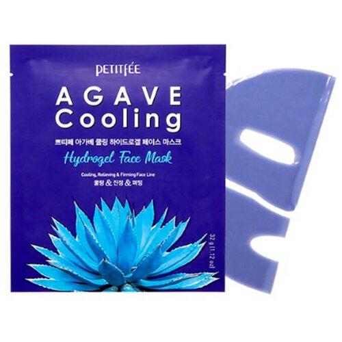 Petitfee Охлаждающая гидрогелевая маска для лица с экстрактом агавы Agave Cooling Hydrogel Face Mask, 32 гМаски<br>