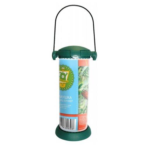 Кормушка GARDEN SHOW для птиц GARDEN SHOW Бункер для крупнозернового корма in garden so naturally 187 марс