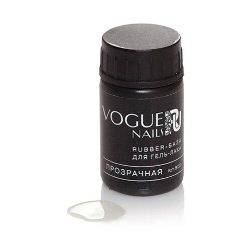 Vogue Nails базовое покрытие Rubber база 14 мл прозрачный