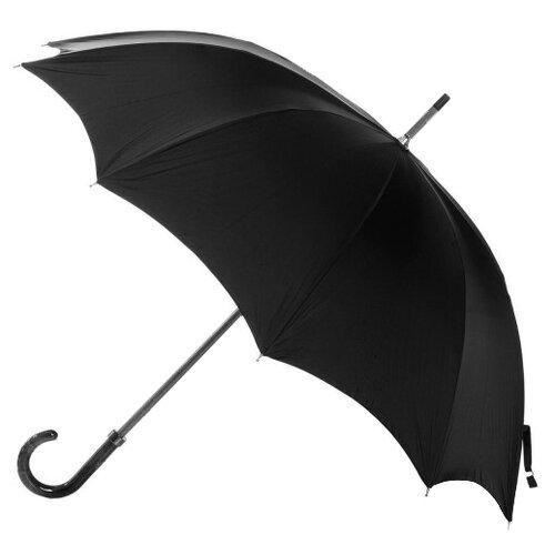 Зонт-трость механика Rainbow RB1659 черный зонт трость для коляски magic rain механика цвет розовый металлик 11919 1