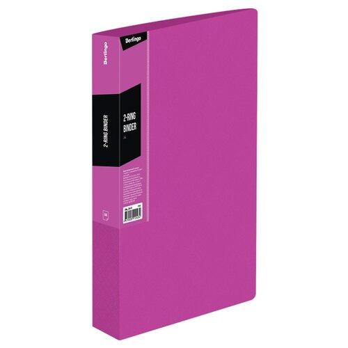 Купить Berlingo Папка на 2-х кольцах Color zone А4, пластик розовый, Файлы и папки