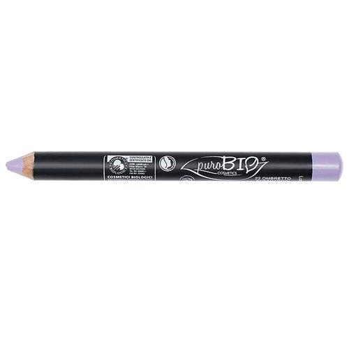 PuroBIO Тени для век в карандаше 22 холодный сиреневыйТени<br>