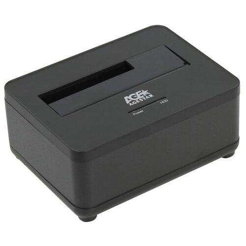 Док-станция для HDD/SSD AGESTAR 3UBT7 черный