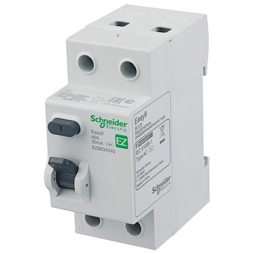 УЗО Schneider Electric 30мА тип AC EZ9R342 2 полюса 25 А