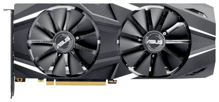 Видеокарта ASUS GeForce RTX 2080 1515MHz PCI-E 3.0 8192MB 14000MHz 256 bit HDMI HDCP Dual Advanced