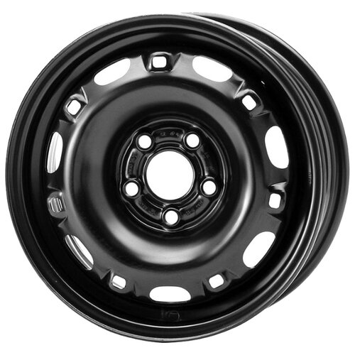 Фото - Колесный диск Magnetto Wheels 14016 5x14/5x100 D57.1 ET35 Black колесный диск magnetto wheels 16012 6 5x16 5x114 3 d60 1 et45 black