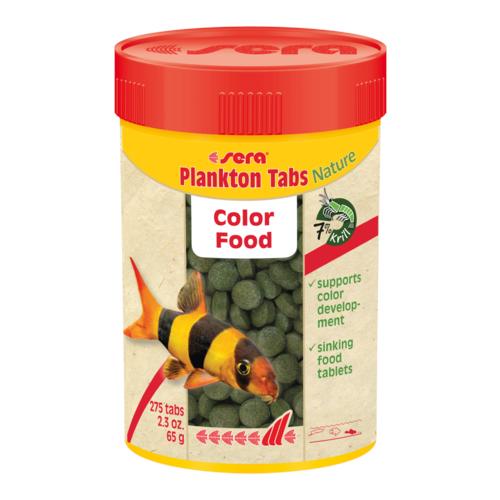 Сухой корм для рыб Sera Plankton Tabs Nature 275 шт.