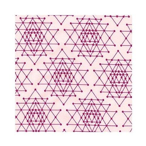 Ткань Robert Kaufman PEPPY (P - W) для пэчворка PALM CANYON фасовка 50 x 55 см 146±5 г/кв.м AVL-17457 pink neil kaufman alan kaufman kaufman neil the new generation fiction for our time from america s writing programs