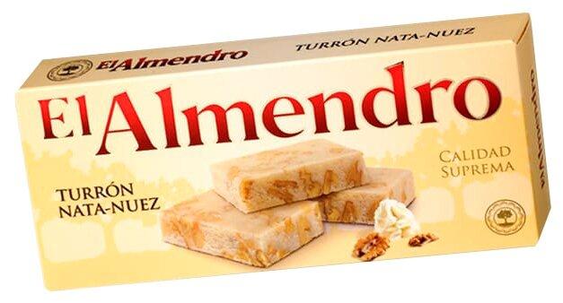 Нуга El Almendro Туррон сливочный с грецким орехом 200 г