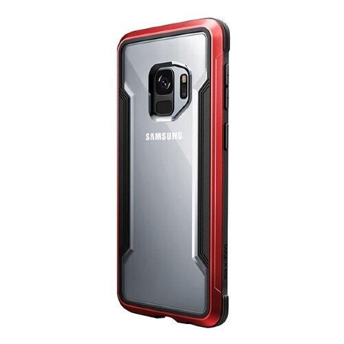 Чехол-накладка X-Doria Defense Shield для Samsung Galaxy S9 красный