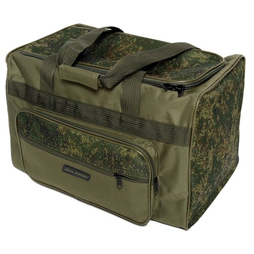 SOLARIS S5122 Сумка багажная с боковым карманом 54 л, Пиксель/олива