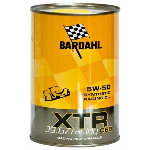 Моторное масло Bardahl XTR C60 Racing 39.67 5W-50 1 л