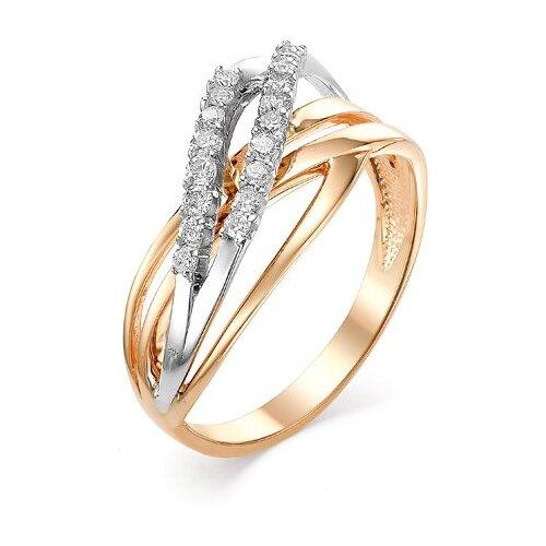 Мастер Бриллиант Кольцо с 18 бриллиантами из красного золота 1-106-474, размер 18 мастер бриллиант кольцо с 6 бриллиантами из красного золота 1 106 567 размер 18 5