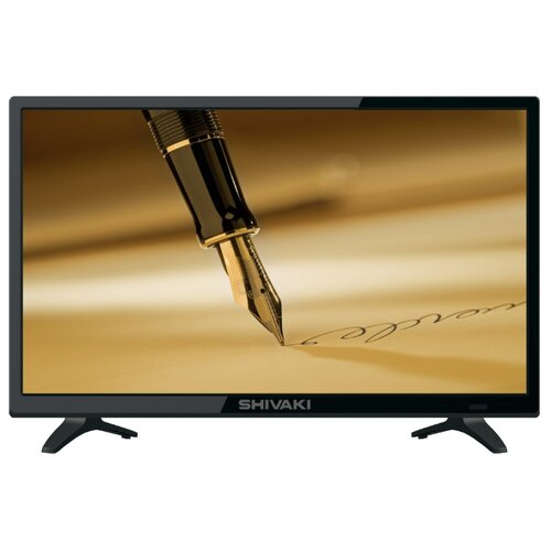 Телевизор Shivaki STV-24LED25 24 (2019) черный телевизор hitachi 24he1000r 24 2019 черный